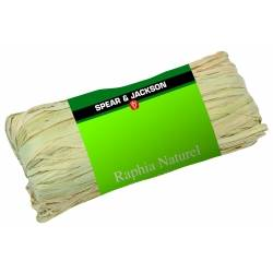 Raphia naturel 50 gr Spear And Jackson