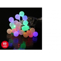 Guirlande 6 m avec 60 LED Multicolore