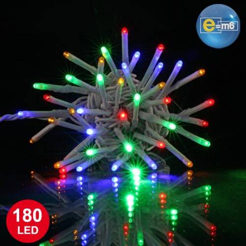 Guirlande  multicolore 20 mètres 180 LED