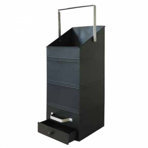 seau pellets 18 litres avec tiroir outils et. Black Bedroom Furniture Sets. Home Design Ideas