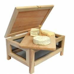 garde manger fruitier l gumier et fromager en bois. Black Bedroom Furniture Sets. Home Design Ideas