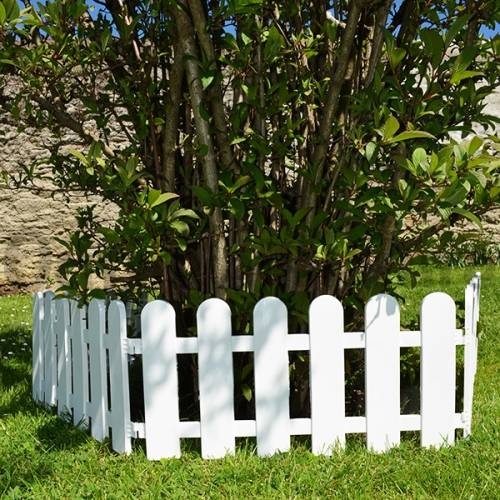 Marvelous pare feu poele 11 bordure de jardin en pvc lot for Bordures jardin pvc
