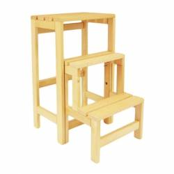 Escabeau tabouret transformable 3 marches